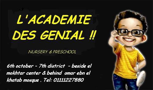 Academie Des Genial